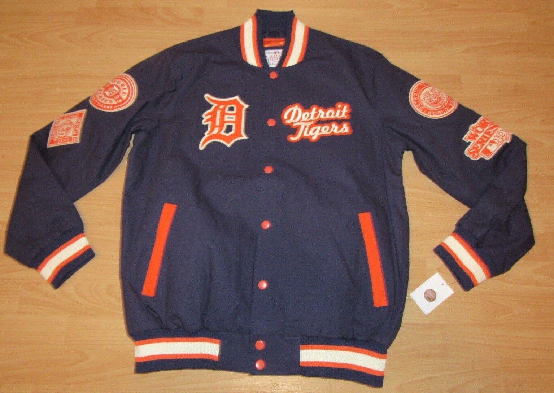 Detroit Tigers Mundial Serie Campeones G-Iii Chaqueta Talla Hombre Grande