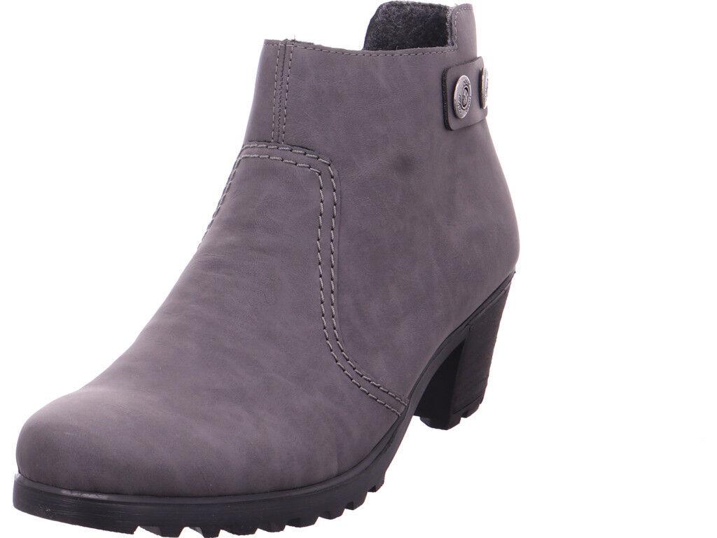 Rieker Damen  Stiefel grau