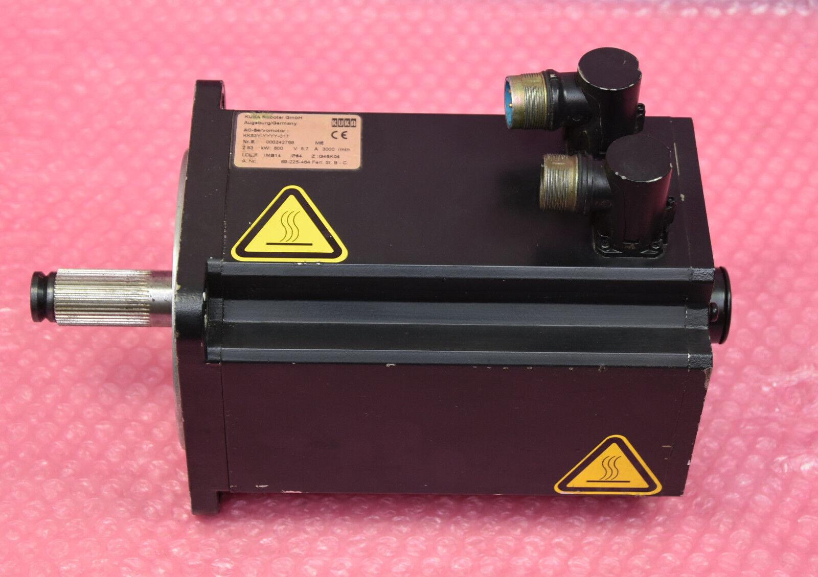 KUKA Robot AC-Moteur D'Asservissement D'Asservissement D'Asservissement type: kk53y-AAAA - 017 f4f974