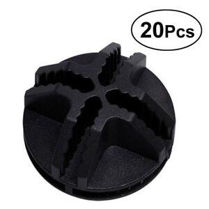 20pcs-Plastic-Connector-Wire-Storage-Cube-Mesh-Snap-Mini-Grid-Push-Clip-Modular