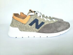 buy popular f2e80 bb51e Details about New Balance 1978 x Woolrich Running Shoes Gray White Made in  USA