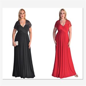 Red Plus Size Short Wedding Dresses
