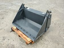 New Cid 48 Skid Steer 4 In 1 Combination Bucket Attachment With Cutting Edge