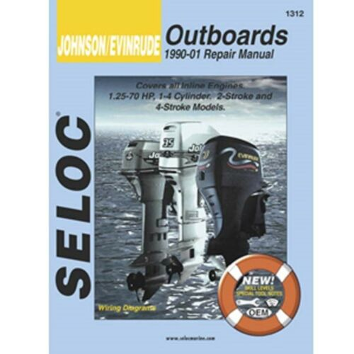 Johnson-Evinrude 1990-2001 #1312 Seloc Service Manual
