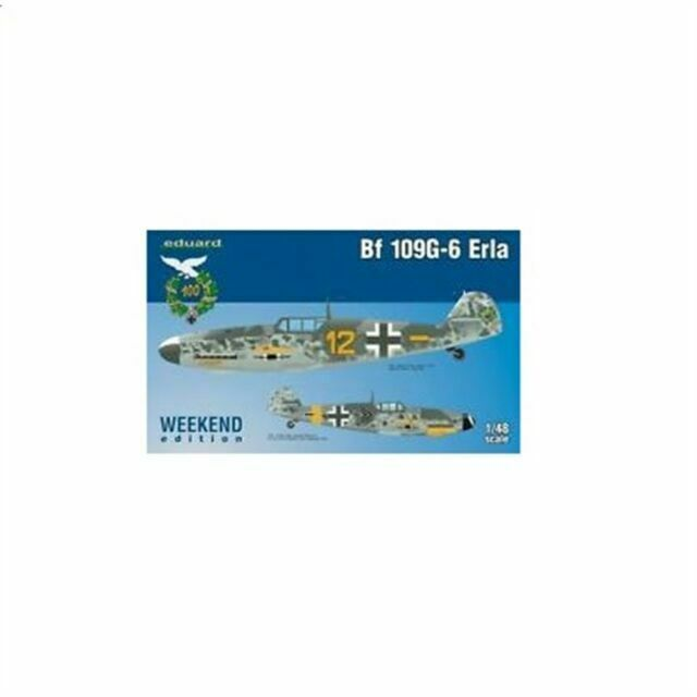 Eduard Plastic Kits 84142 Bf 109G-6 Erla Weekend in 1:48