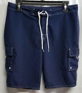 2ce2c70f4e Image is loading Beach-Rays-Blue-Board-Shorts-Size-7