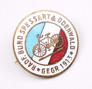 Mitgliedsabzeichen-Radfahrerbund-Spessart-amp-Odenwald-1913