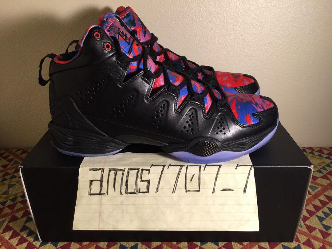 Nike Air Jordan Melo M10 YOTH Year Of The Horse Black bluee 649352040 Size SZ 10