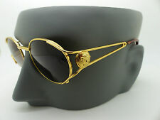 Occhiali da sole VERSACE Gianni MOD G98.S col 030 AUTENTICO VINTAGE NEW OLD STOCK