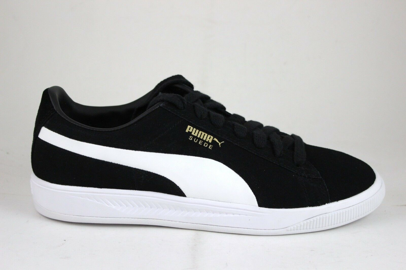 Men's PUMA Suede Ignite Black White 364069 02 New In Box