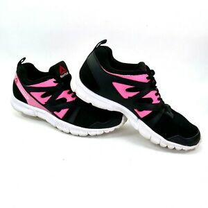 oryginalne buty delikatne kolory najlepiej tanio Details about Reebok Womens Running Shoes size 7.5 Black Pink Memory Tech  Insoles 1AP506 516