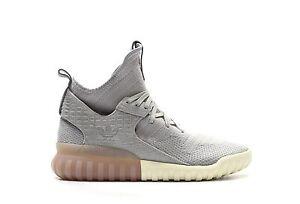 X Shoes Grigio 12 Brown Bianco Tubular Gum Primeknit Adidas S74931 Originals Nuovo HY0IvnI