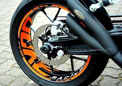 Goedkope Verkoop Aufkleber Felgenrandaufkleber Ktm Duke 690 R V 5 Iv 4 12-19 - Tomtec-racing®