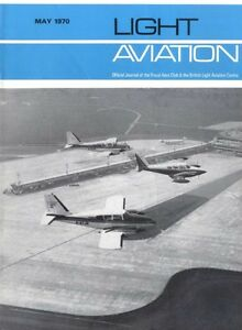 LIGHT-AVIATION-MAGAZINE-1970-MAY-PORTSMOUTH-AIRPORT-BLAC-039-S-PROPOSALS