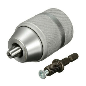 2-13mm-3-8-24UNF-Keyless-Drill-Chuck-or-Removable-1-4-Inch-Quick-Change-Shank