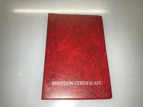 Un seul rouge des armes à feu//certificat Titulaire de la licence//Portefeuille-SGC//AEC