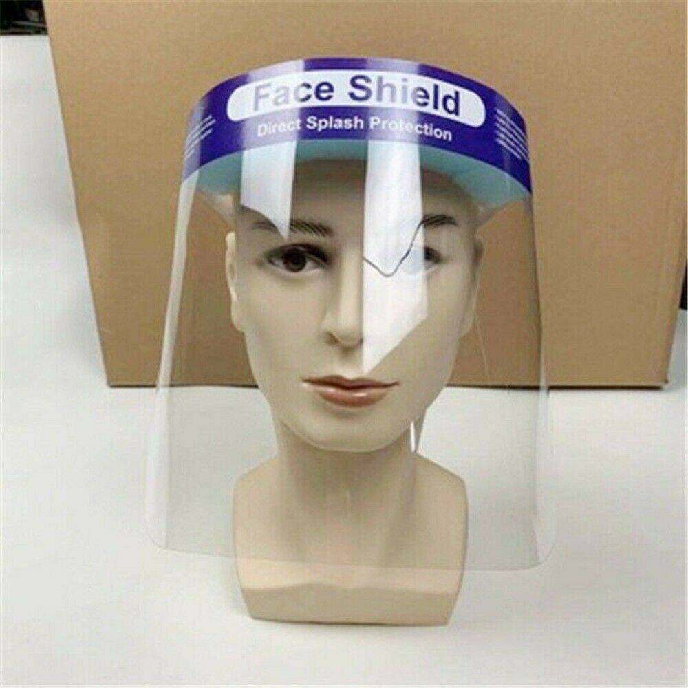 SAFETY FACE SHIELD With CLEAR FLIP-UP VISOR Shop Garden Industry 3