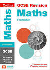 GCSE Maths Foundation Tier All-in-One Revision and Practice by Collins GCSE (Paperback, 2015)