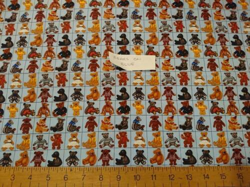 """1 NEW FAT QUARTER 18x22/"""" PIECE PRINTED PATTERN or PLAIN FABRIC CRAFT /& PATCHWORK"""