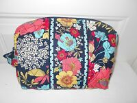 Vera Bradley happy Snails Large Cosmetic With Tags Free Shipping
