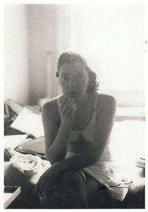 Postkarte 1957 //Akt Saul Leiter Jay