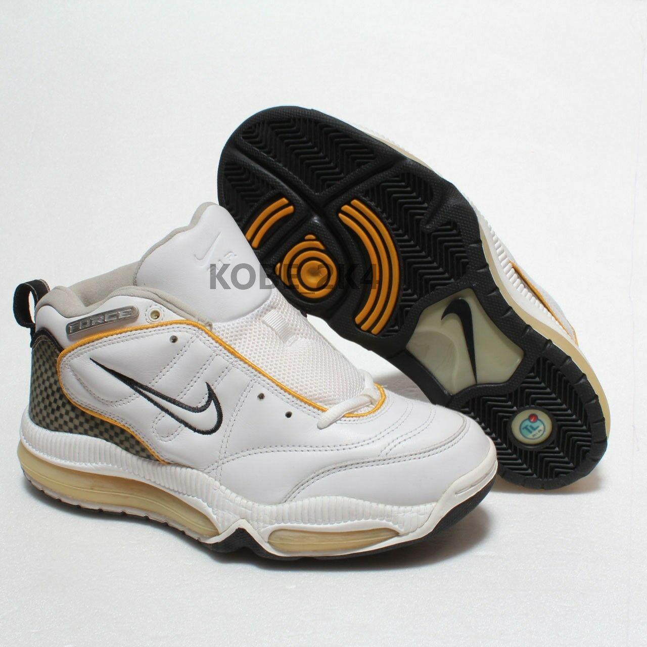 280 NEW VINTAGE NIKE AGGRESS FORCE AGASSI BASKETBALL GRAPHITE CARBON Uomo US