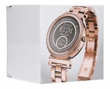 Michael Kors Access Sofie Pavé 42mm Stainless Steel Case with Deployment Buckle Smartwatch in Rose Gold-Tone - (MKT5022)