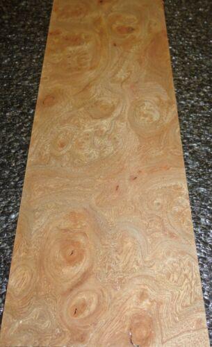 "Carpathian Elm Burl wood veneer 2.5/"" x 8/"" raw no backing 1//42/"" thickness /""AA/"""