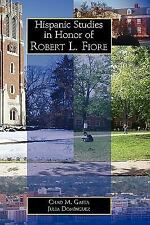Hispanic Studies in Honor of Robert L. Fiore (Juan de La Cuesta-Hispan-ExLibrary