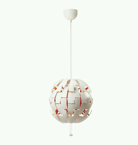 IKEA PS 2014 Pendant lamp white/orange NEW OTHER