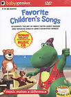 Baby Genius Favorite Children's Songs w/bonus Music CD, Acceptable DVD, Artist N