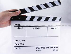 Clapperboard TV Film Movie Clapper Board Handmade NEW
