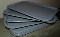 """SILITE SERVING CAFETERIA FOOD BUFFET TRAY!! GRAY CT 1216 CHICAGO 16 1/4"""" x 12"""""""