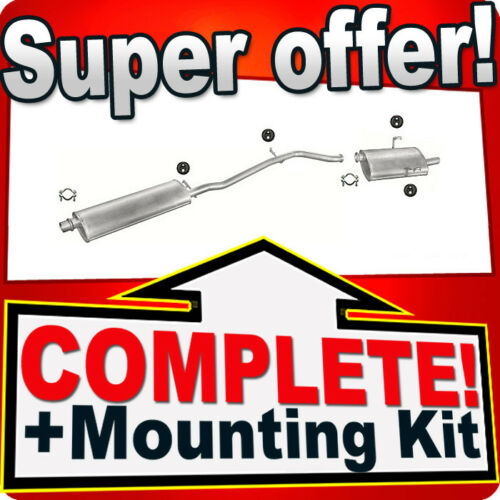 Peugeot 406 2.0 16V Coupe//Saloon 1999-2000 Silencer Exhaust System 696
