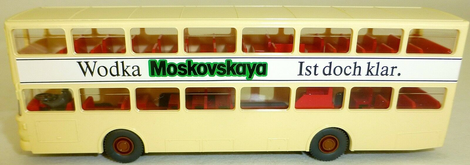 Moskovskaya Autobús de Publicidad 69 Reichstag Impreso Man SD 200 Aus Wiking Bus