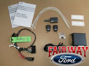 15 thru 17 mustang oem genuine ford parts remote start. Black Bedroom Furniture Sets. Home Design Ideas