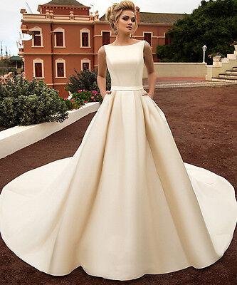 Short Wedding Dresses Cap Sleeves Knee Length Plus Size 4 6 8 10 12 14 16 18 20