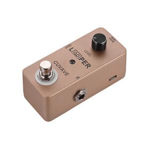 Metal-Guitar-Loop-Looper-Pedal-unlimited-overdub-loop-function-True-Bypass-P9X9