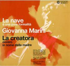 LP 33 Giovanna Marini La Nave La Creatora I Dischi Del Sole DS 1015/17