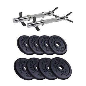 ScSPORTS-20-kg-Hantelset-Kurzhantel-2-x-10-kg-Kurzhantelset-Hantelscheiben-Guss