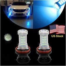 2 x H11 H8  92SMD Ice Blue Auto LED Bulbs High power Car Truck  Fog Lights Lamp