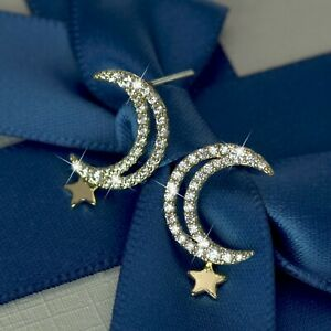 18k-gold-925-silver-stud-made-with-swarovski-crystal-moon-star-dangle-earrings