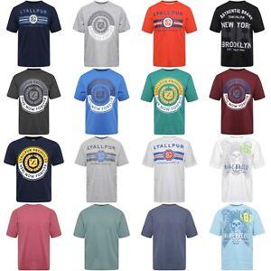 NUOVO-design-moderno-Junior-Bambini-Ragazzi-100-cotone-sul-davanti-stampato-T-Shirts-Tops