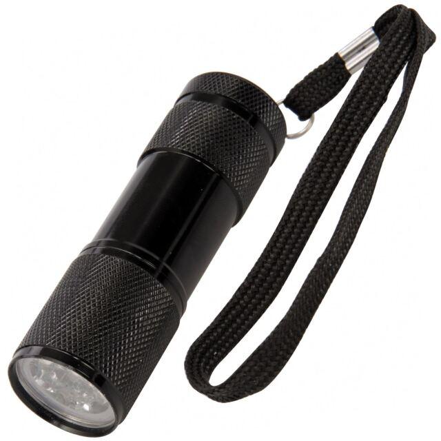 Silverline 257229 LED UV Negro Linterna Gas Invisible Tinta Deslizamiento Polvo