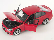BLITZ VERSAND BMW 335 i 2012 rot / red 1:24 Welly Modell Auto NEU & OVP