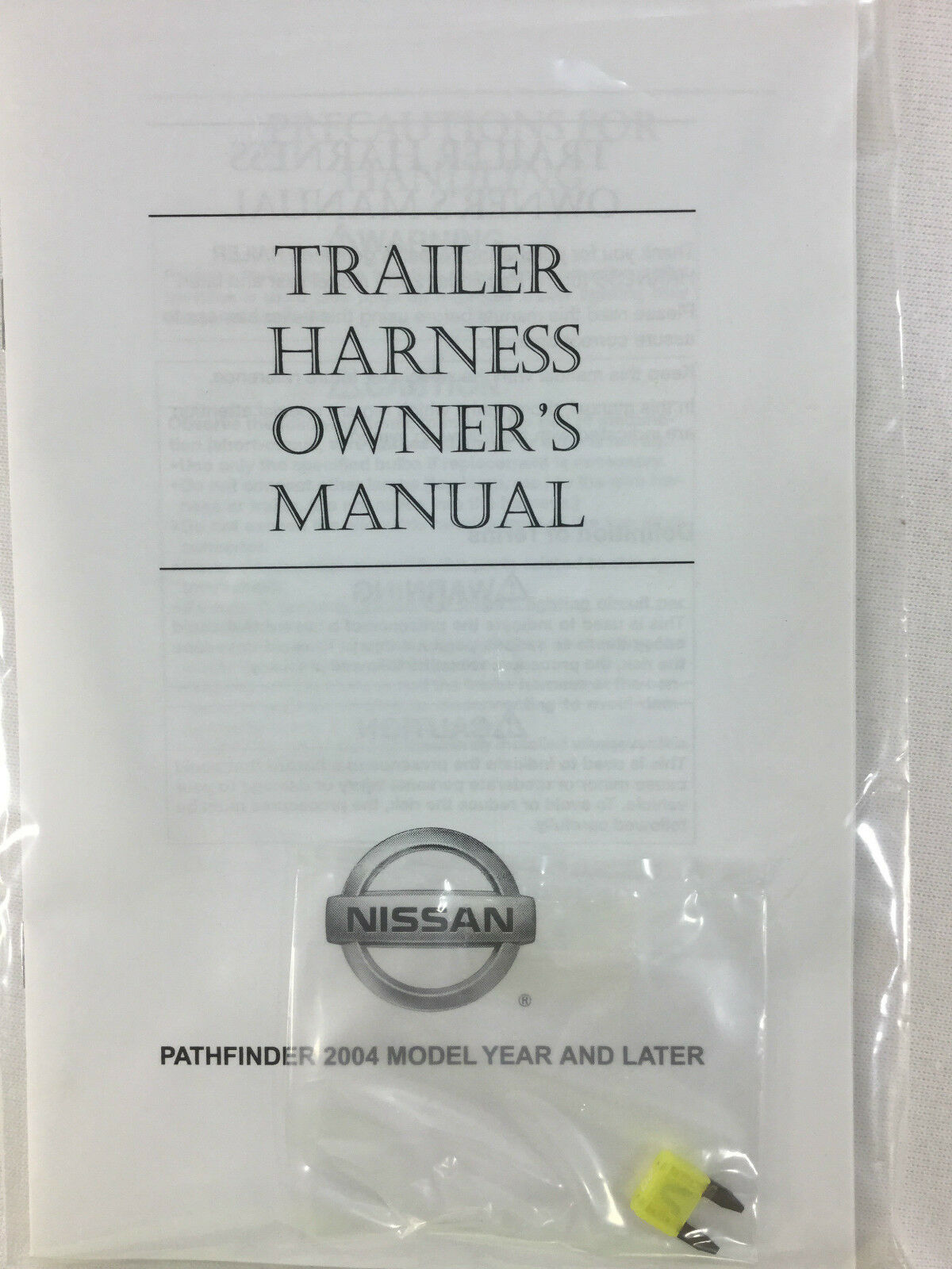 999t8 Xq000 Nissan Pathfinder Trailer Harness Kit Oem 999t8xq000 Ebay 2013 Tow Wiring Norton Secured Powered By Verisign