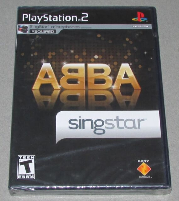 Singstar ABBA for Playstation 2 Brand New, Factory Sealed!