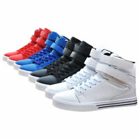 MENS BOYS SPORTS HI HIGH TOPS ANKLE CASUAL BOOTS SHOES TRAINERS SIZE UK 6-9.5