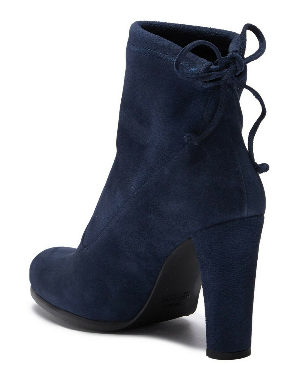 New in Box STUART WEITZMAN bluee Round Toe Toe Toe Suede Bootie shoes, US 10,  585 307f09