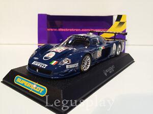 Slot-SCX-Scalextric-Superslot-H2630-Maserati-MC12-No-33-Bertolini-Salo